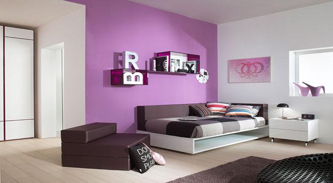 Habitaciones juveniles e infantiles de dise o - Pinturas para habitaciones juveniles ...