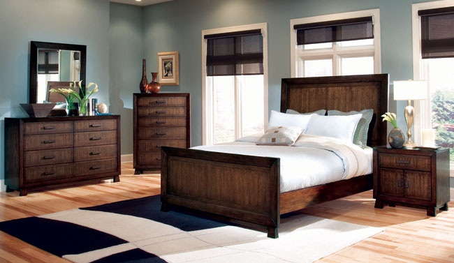 Decorar un dormitorio de azul y marr n - Decorar un dormitorio ...