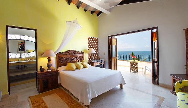 Decorar un dormitorio de color amarillo - Colores para un dormitorio ...