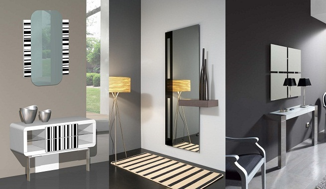 Decorar un recibidor de estilo moderno for Decorar piso gris