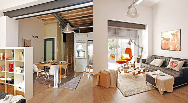 Peque o apartamento grandes recursos - Como amueblar un piso ...