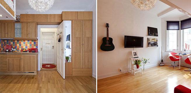 Un apartamento muy bien aprovechado - Interiorismo pisos pequenos ...