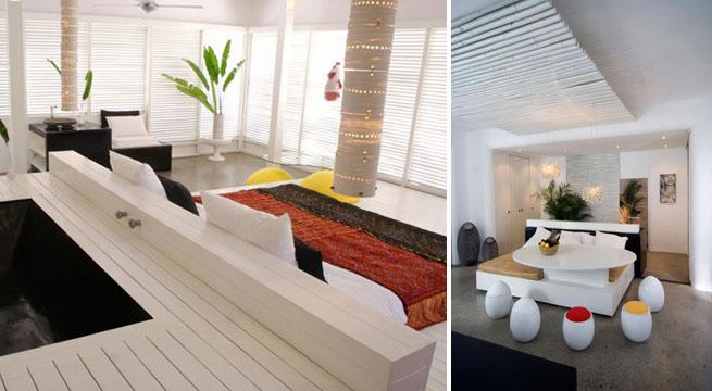 Casa con decoraci n tropical moderna for Decoracion piso joaquin torres