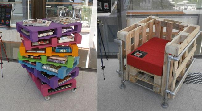 Concurso de dise o con palets for Diseno de muebles con palets