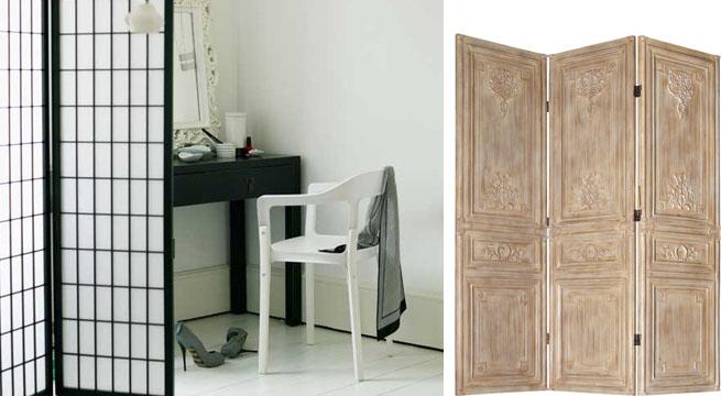 Decorar el dormitorio con biombos - Decoracion con biombos ...