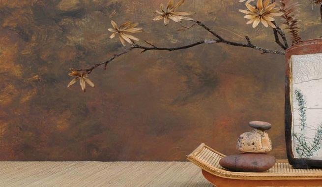 C mo pintar con efecto xido - Pintar paredes con efectos ...