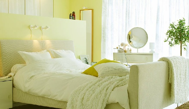 C mo pintar un dormitorio moderno - Tecnicas para pintar una habitacion ...