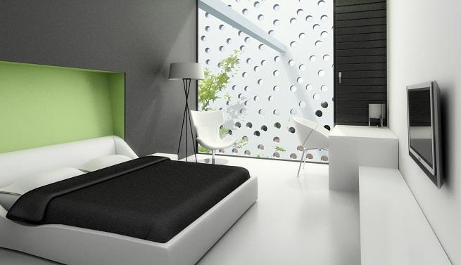 Cómo pintar un dormitorio moderno