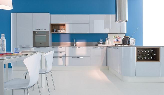 Decoraci n e ideas para mi hogar decoraci n de cocinas en - Cocina de color ...