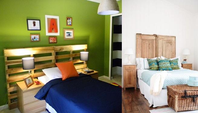 Ideas para hacer cabeceros de cama baratos - Ideas cabeceros cama ...
