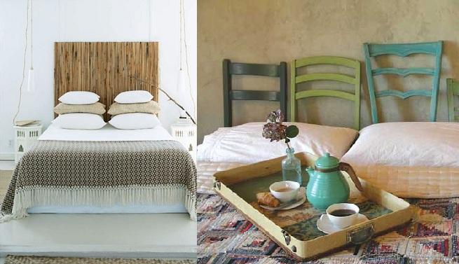 los pals de madera son un elemento perfecto no solo para hacer un cabecero sino que tambin se han puesto muy de moda para ser utilizados como mesa de
