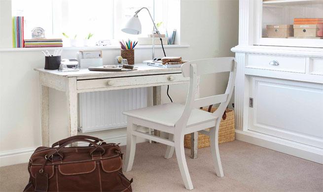 Muebles blancos en la decoraci n - Muebles coloniales blancos ...