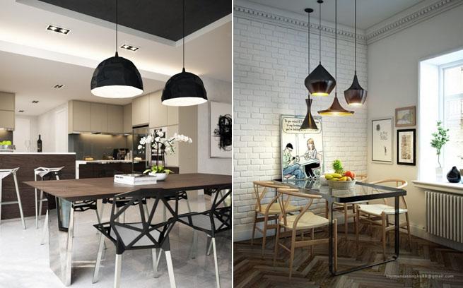 Cuatro comedores bien decorados - Comedores decorados modernos ...