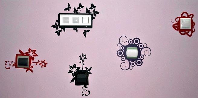 Decorar los enchufes e interruptores - Enchufes e interruptores ...