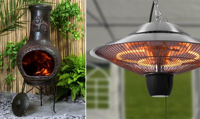 Estufas para el jard n oto o al aire libre - Estufas electricas para terrazas ...