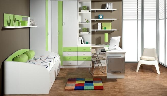 Decoraci n de habitaciones juveniles - Decoraciones para dormitorios juveniles ...