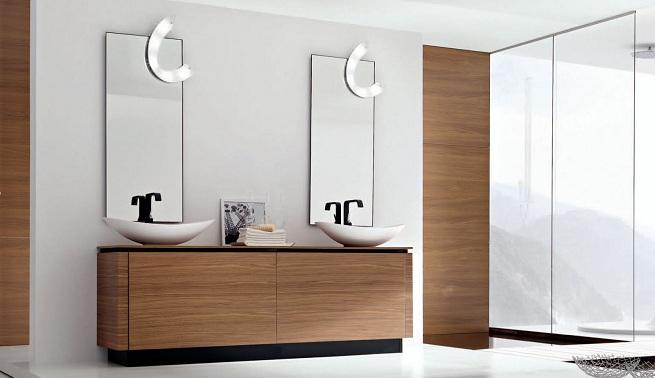 Decoracion Baño Sencillo:Decoración vanguardista en el baño