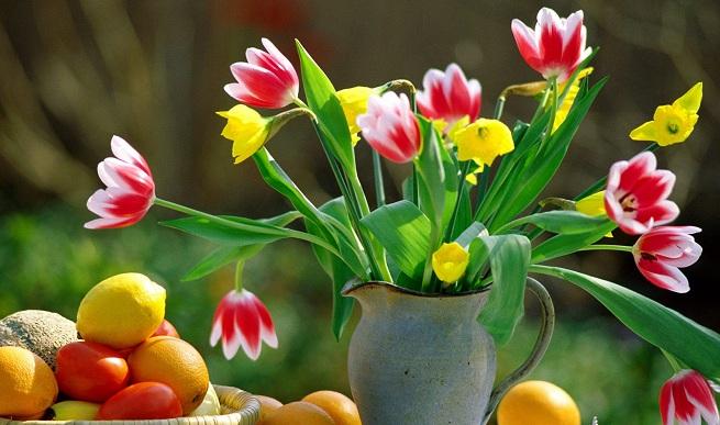 El jarr n perfecto para un ramo de flores - Fotos jarrones con flores ...