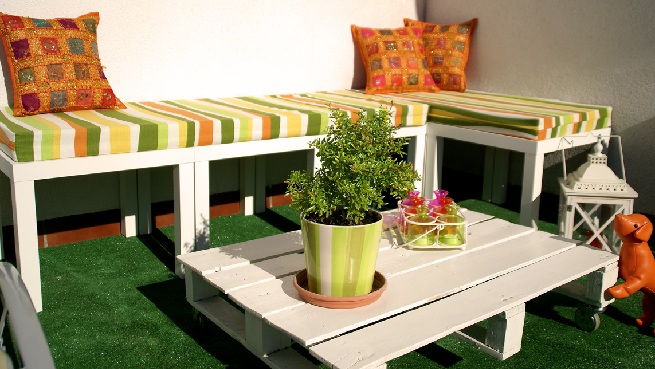 Ideas para decorar la terraza - Como decorar una terraza grande ...