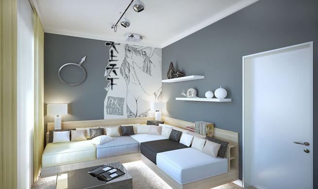 Decorar un salon con toques manga - Muebles japoneses barcelona ...