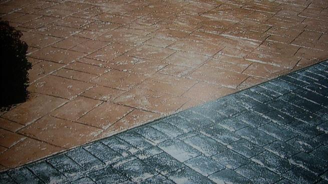 Mantenimiento del suelo de hormig n for Pintar baldosas suelo