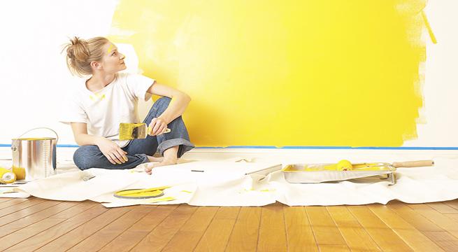 Esmalte para paredes que se puede lavar - Quitar pintura de pared ...