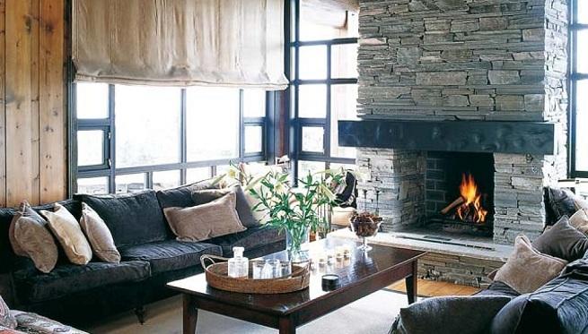Tendencias en estilos decorativos para oto o 2012 - Casa de campo decoracion ...