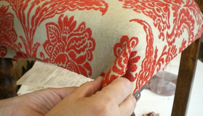 C mo tapizar una silla - Telas tapizar sillas ...