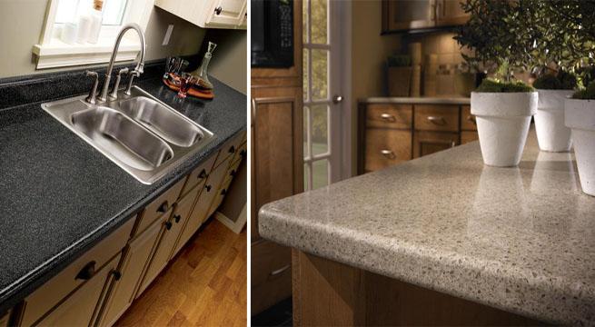 Renovar encimeras de melamina - Cocinas con encimera de granito ...