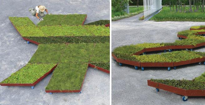 Fractal Garden, un jardín con ruedas