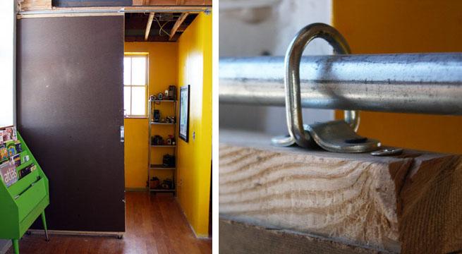 Construir e instalar una puerta corredera - Como colocar puertas correderas ...