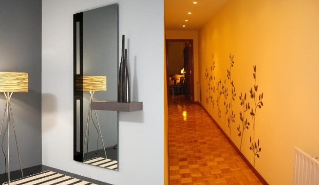 C mo iluminar el recibidor y el pasillo - Como decorar un pasillo pequeno ...