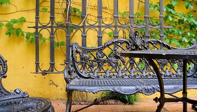 Cuidados para muebles de hierro for Muebles en hierro