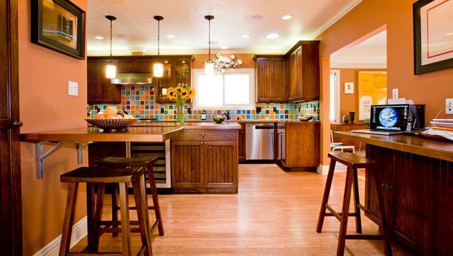 Elegir el color para la cocina - Cocina de color ...
