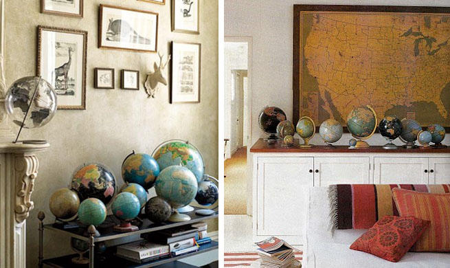 Decorar con bolas del mundo - Bola del mundo decoracion ...