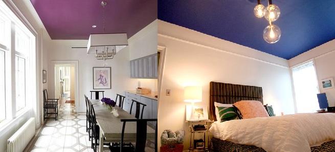 Ideas para pintar el techo de colores - Ideas para techos ...