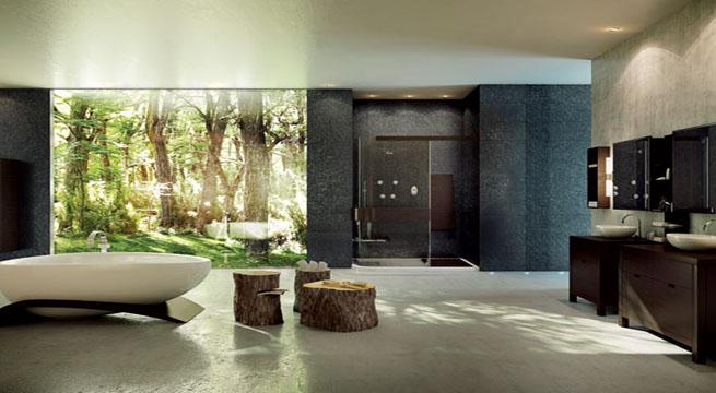 Decoracion Para Baños Grandes:Ideas para baños de inspiración zen