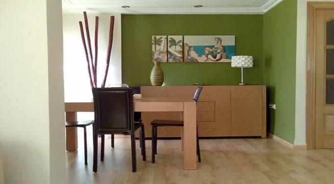 Decorar con colores empolvados - Colores verdes para paredes ...