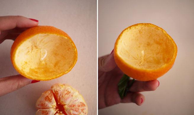 Velas decorativas con c scara de naranja for Como hacer velas decorativas