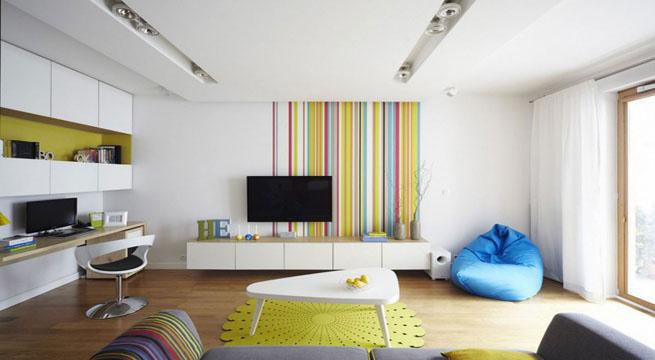 Apartamento informal y muy bien decorado for Apartamentos pequenos bien decorados