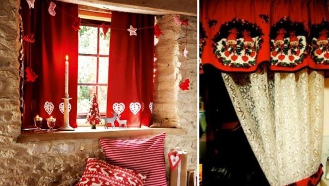 Peinados decoracion reflexiones y m s imagenes de for Cortinas navidenas para sala