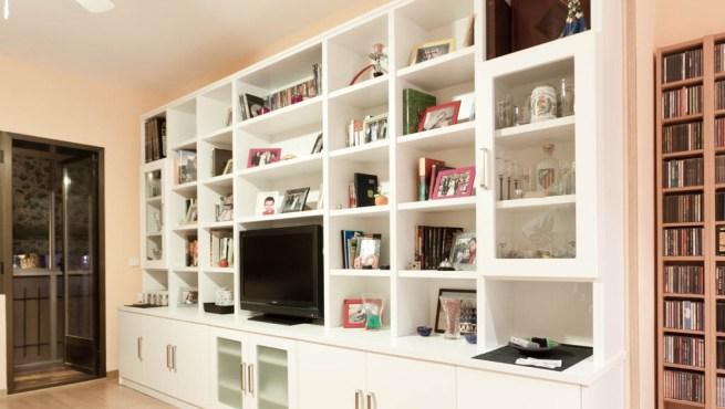 Librer a estanter a para aprovechar el espacio - Estanterias para librerias ...