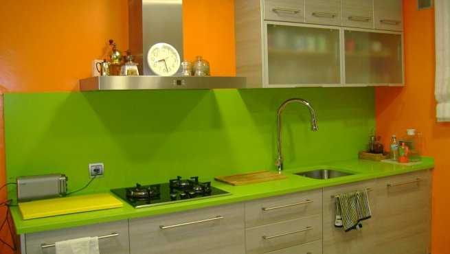 Colores Verdes Para Paredes. Awesome Sala Estar Paredes Verdes With ...