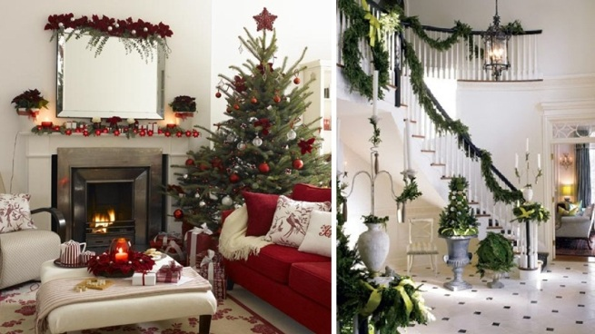 Tendencias en decoraci n de navidad en 2012 - Decoracion casa en navidad ...