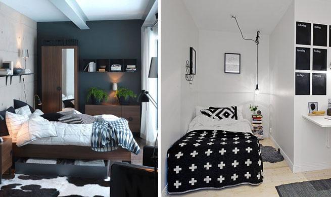 Dormitorios peque os ejemplos de decoraci n - Decoracion de dormitorios pequenos ...