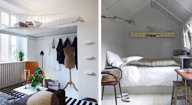 Dormitorios peque os ejemplos de decoraci n - Decoracion dormitorio pequeno ...