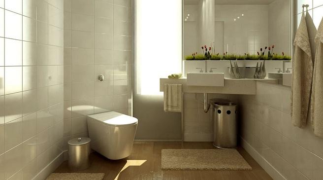 Iluminacion Baño Consejos:Consejos para sacarle partido a un baño pequeño