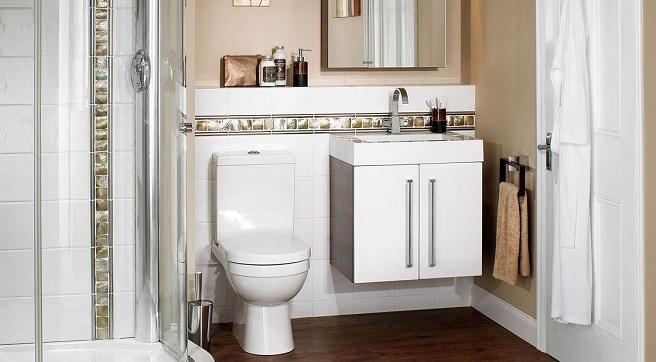 Muebles Para Baño Pequeno:tenemos que echar mano de la imaginación para sacarle partido de la