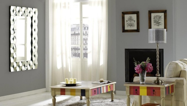 Decorablog revista de decoraci n - Espejos modernos salon ...