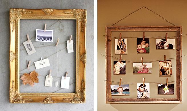 Decoraci n de marcos de madera imagui - Marcos fotos madera ...